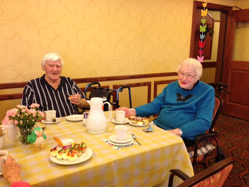 Think Spring Tea Party, Oak Park Senior Living, Oak Park Heights, MN