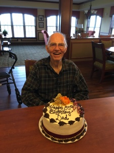 Happy birthday, Oak Park Senior Living, Oak Park Heights, MN