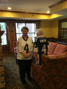 oak park senior living, st paul senior living, assisted living, first vikiings game of the 2016 season