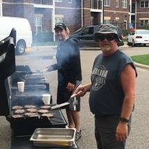Up North Picnic-Oak Park Senior Living-grilling