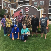 Up North Picnic-Oak Park Senior Living-group shot