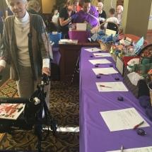 Alzheimers Fundraiser-Oak Park Senior Living-bidding time