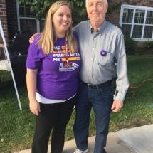 Alzheimers Fundraiser-Oak Park Senior Living-outside photo