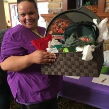 Alzheimers Fundraiser-Oak Park Senior Living-silent auction basket
