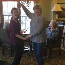 Alzheimers Fundraiser-Oak Park Senior Living-dancing