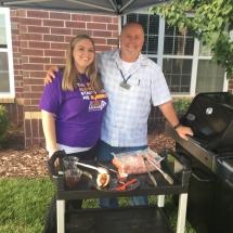 Alzheimers Fundraiser-Oak Park Senior Living-grilling
