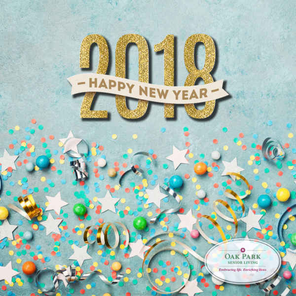 Happy New Year from Oak Park Senior Living