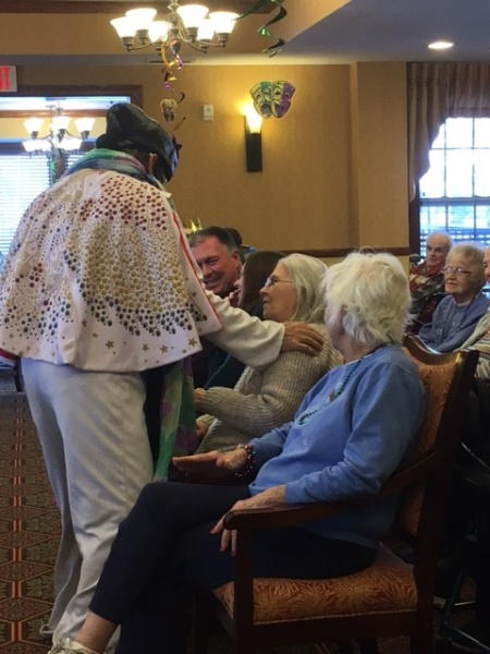 Elvis at Oak Park Senior Living