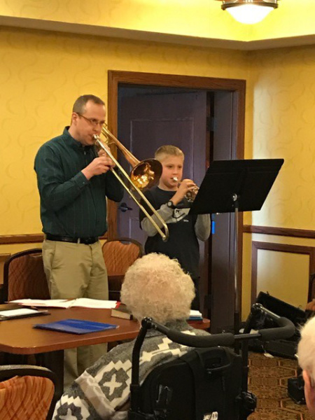 Easter Music at Oak Park Senior Living