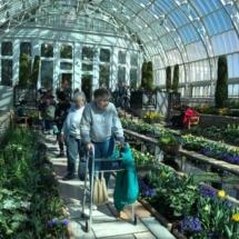 Oak Park Senior Living goes to the Spring Flower Show