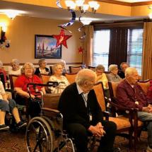 July 4th at Oak Park Senior Living