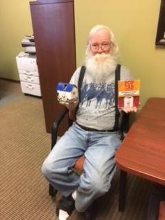 Howard collecting for Ronald McDonald