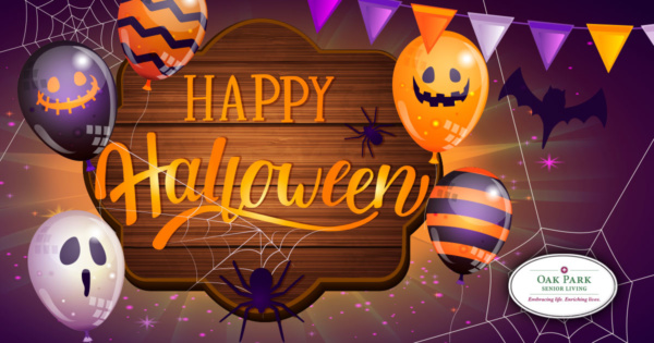 Happy Halloween from Oak Park Senior Living